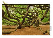 Angel Oak Tree Branches Carry-all Pouch by Louis Dallara