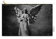 Angel Of Death Bw Carry-all Pouch