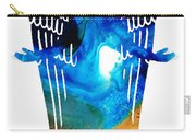 Angel Of Light - Spiritual Art Painting Carry-all Pouch