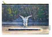 Angel On A Misty Lake  Carry-all Pouch