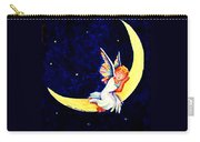 Angel On The Moon Carry-all Pouch