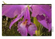 Angel Orchid Gold Leaf Carry-all Pouch