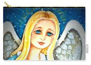 Angel Sheltering Seven Swans Carry-all Pouch