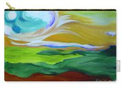 Angel Sky Green By Jrr Carry-all Pouch