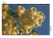 Angel Trumpets In The Sky Carry-all Pouch