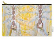Angel Winds Flames Of Fire Carry-all Pouch