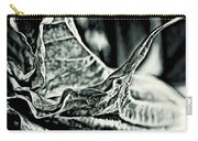 Angel Wing Variation Black White Carry-all Pouch