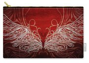 Angel Wings Crimson Carry-all Pouch