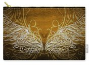 Angel Wings Gold Carry-all Pouch