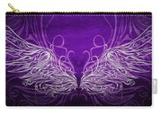 Angel Wings Royal Carry-all Pouch