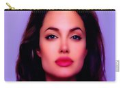 Angelina Jolie Beautiful Lips Carry-all Pouch