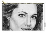 Angelina Jolie In 2005 Carry-all Pouch