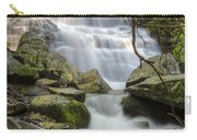 Angels At Benton Waterfall Carry-all Pouch by Debra and Dave Vanderlaan