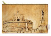 Angels Bridge And Castle Carry-all Pouch