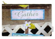 Angels Gather Here Carry-all Pouch