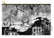 Angels In Gothica Bw Carry-all Pouch