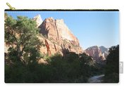 Angels Landing And Virgin River - Zion Np Carry-all Pouch