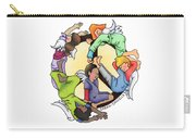 Angels Of Peace Carry-all Pouch by Sarah Batalka