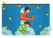 Angels Play Carry-all Pouch by Sarah Batalka
