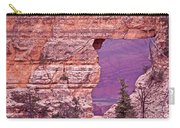 Angel's Window  Grand Canyon Carry-all Pouch