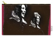 Angie Dickinson Laughing Collage Young Billy Young Set Old Tucson Arizona 1968-2013 Carry-all Pouch