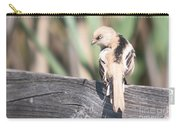 Angry Bird Bearded Reedling Juvenile Carry-all Pouch