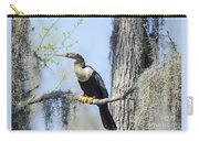 Anhinga And Spanish Moss Carry-all Pouch