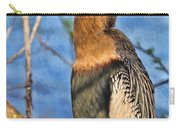 Anhinga At The Pond Carry-all Pouch