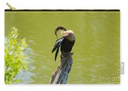 Anhinga Grooming Feathers Carry-all Pouch
