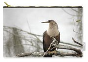 Anhinga On A Misty Morning Carry-all Pouch