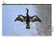 Anhinga Over Blue Water Carry-all Pouch