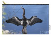 Anhinga  Sunbathing Carry-all Pouch