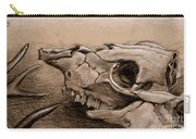Animal Bones Carry-all Pouch
