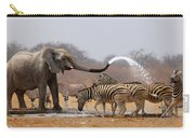 Animal Humour Carry-all Pouch by Johan Swanepoel