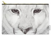 Animal Kingdom Series - Mountain Lion Carry-all Pouch