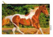 Animal Portrait The Horse Carry-all Pouch