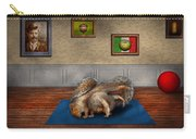 Animal - Squirrel - And Stretch Two Three Four Carry-all Pouch by Mike Savad