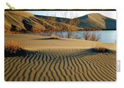 Animal Tracks In The Sand Carry-all Pouch