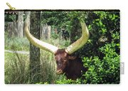 Ankole Longhorn Carry-all Pouch
