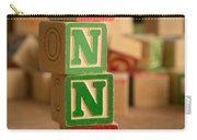Anna - Alphabet Blocks Carry-all Pouch