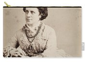 Anna Elizabeth Dickinson (1842-1932) Carry-all Pouch