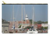 Annapolis Harbor Alongside Dock Street Carry-all Pouch