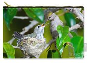 Annas Hummingbirds At Nest Carry-all Pouch
