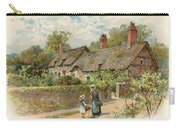 Anne Hathaway's Cottage At Shottery Carry-all Pouch