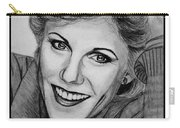 Anne Murray In 1983 Carry-all Pouch by J McCombie