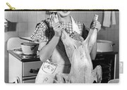 Anne Shirley And Her Turkey Carry-all Pouch by Underwood Archives