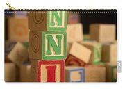 Annie - Alphabet Blocks Carry-all Pouch