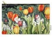 Ann's Tulips Carry-all Pouch