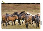 Annual Horse Round Up-laufskalarett Carry-all Pouch