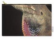 Anolis Lizard Portrait Peru Carry-all Pouch
